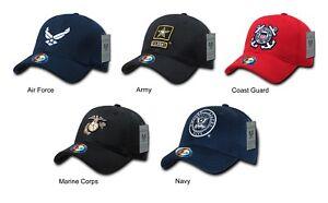 2db1731a360 US Military Air Force Army Coast Guard Marine Corps Navy Cap Hat ...