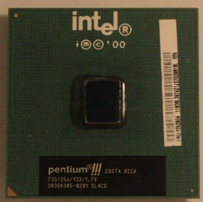 CPU, Intel, Pentium III SL4CG COSTA RICA