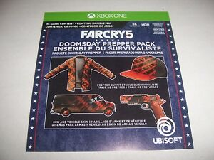 Details about Far Cry 5 Doomsday Prepper Pack Download Code DLC Add-on Xbox  One XB1