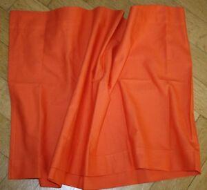 Scheibengardinen Ikea ikea scheibengardine schabracke slatterfly orange kurzer vorhang ebay