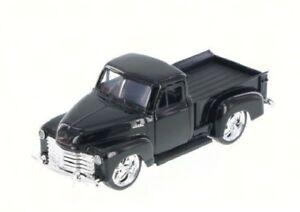JADA-1953-Chevy-Pickup-Truck-Just-Trucks-1-32-scale-Diecast-Car-97007-Black