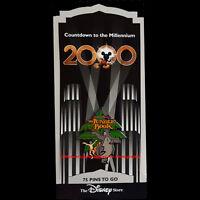 Disney Store Countdown To The Millennium 76 Jungle Book Pin Baloo Mowgli