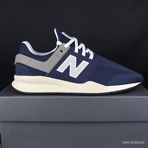 new balance azul hombres zapatillas