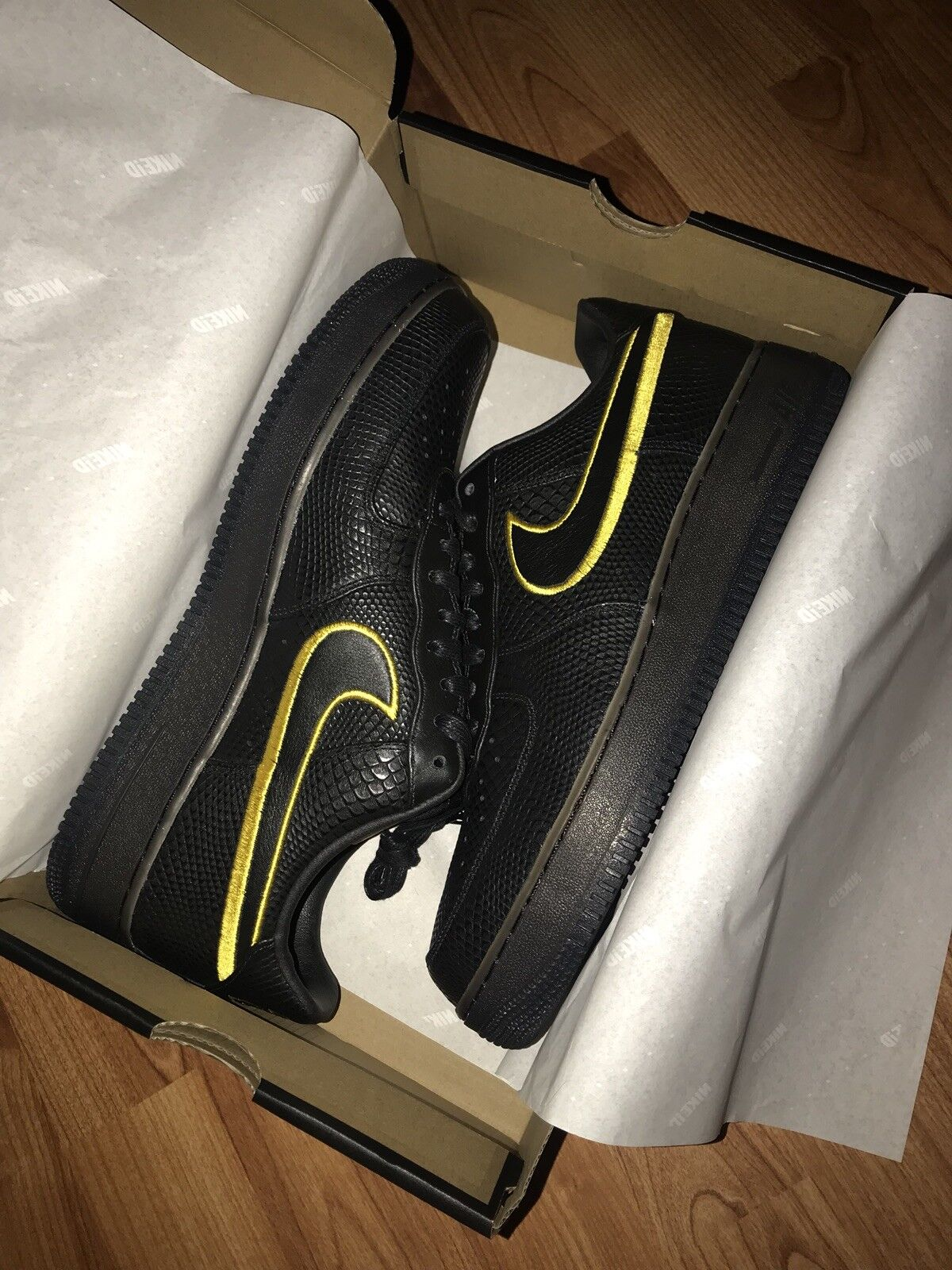 Nike Air Force 1 Low Kobe Black Mamba Comfortable Brand discount