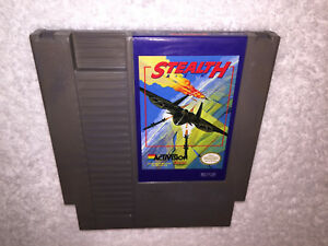 Stealth-ATF-Nintendo-Entertainment-System-1989-NES-Game-Cartridge-Excellent