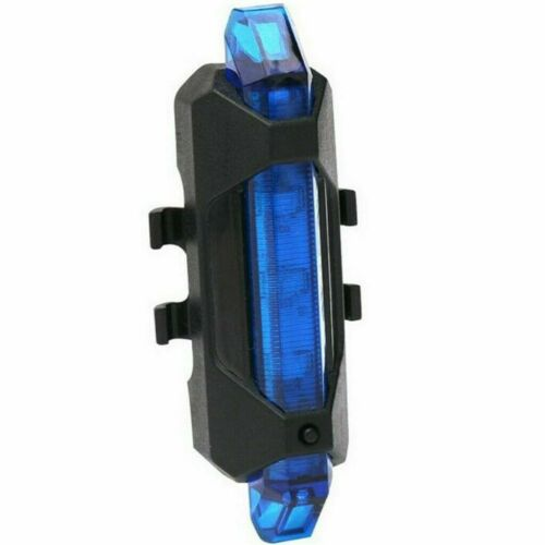 USB Rechargeable LED Bicycle Bike Front Rear Light Headlight Taillight Lamp EL