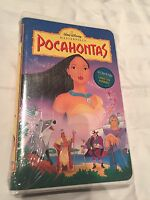 Pocahontas Disney Masterpiece Collection Vhs W/clamshell Case Video
