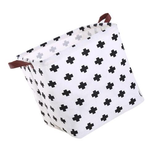 Large Folding Laundry Hamper Bucket Waterproof Coating Toy Storage Basket