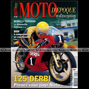 MOTO-D-039-EPOQUE-N-33-YAMAHA-RD-350-ARIEL-BENELLI-650-S-TORNADO-DERBI-125-DKW-ULD