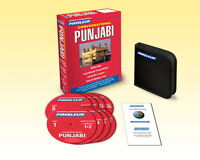 8 Cd Pimsleur Learn To Speak Conversational Punjabi Language (16 Lessons)