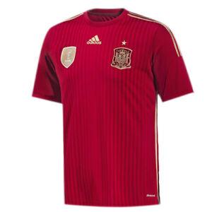 Adidas Spain International Mens Home Football Soccer Shirt Jersey G85279 EE117