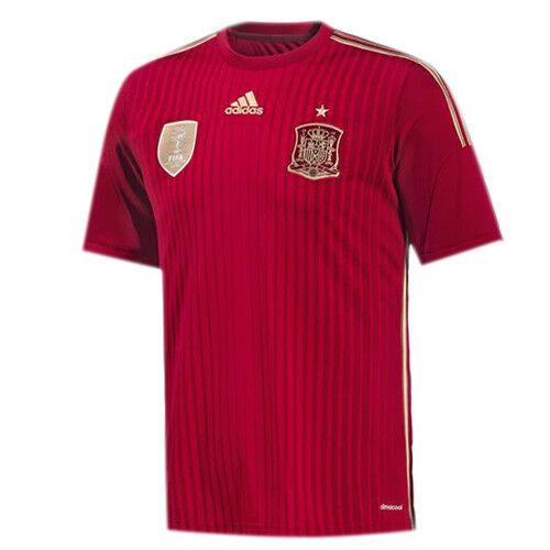 Adidas España International Hombres Casa Fútbol Camisa Jersey G85279 DD84