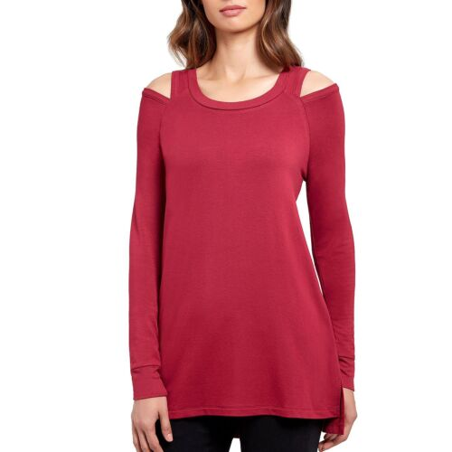 KENNETH COLE REACTION WOMEN/'S LONG SLEEVE COLD SHOULDER TOP VARIETY SIZE NEW