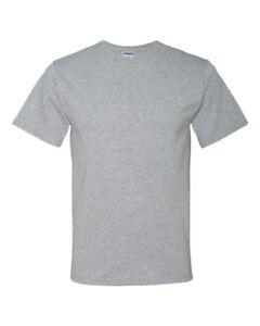Jerzees-Men-039-s-5-6-oz-50-50-Heavyweight-Blend-T-Shirt-29M-S-4XL