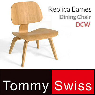 TOMMY SWISS: NEW Dining Chair Replica Charles and Ray Eames DCW (RF002)