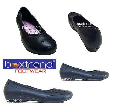Más Barato Nuevo Niñas Escolar Zapatos Negro Fancy Partido Slip On Niños Infantil Junior