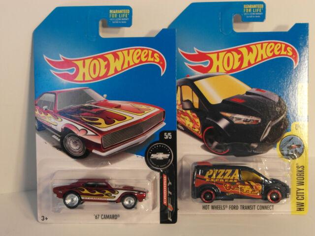 2017 HW Hotwheels Treasure Hunt SUPER TH '67 CAMARO Real Riders plus Reg. TH