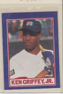 1991-Pepsi-Food-Issue-4-8-Ken-Griffey-Jr-Seattle-Mariners-Baseball-Card