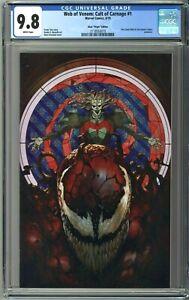 Web-of-Venom-Cult-of-Carnage-1-CGC-9-8-Skan-VIRGIN-Variant-Cover-w-COA