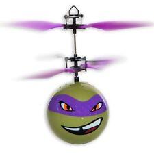 Nickelodeon TMutant Ninja Turtle Heli Ball Fun Indoor Rc Flying Sphere PurpleNew