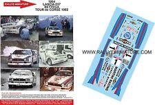 DECALS 1//24 REF 1517 LANCIA 037 RALLY ATTILIO BETTEGA RALLYE MONTE CARLO 1984