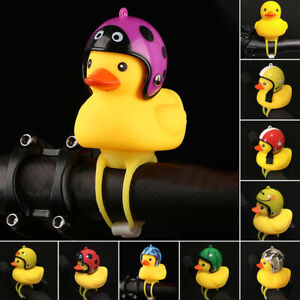 Bike Bell Bicycle Bells Light Shining Rubber Duck Motorcycle Horn Handlebar