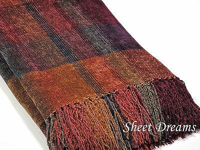 Churchill Weavers Handwoven Throw Blankets Collection On EBay Classy Black Chenille Throw Blanket