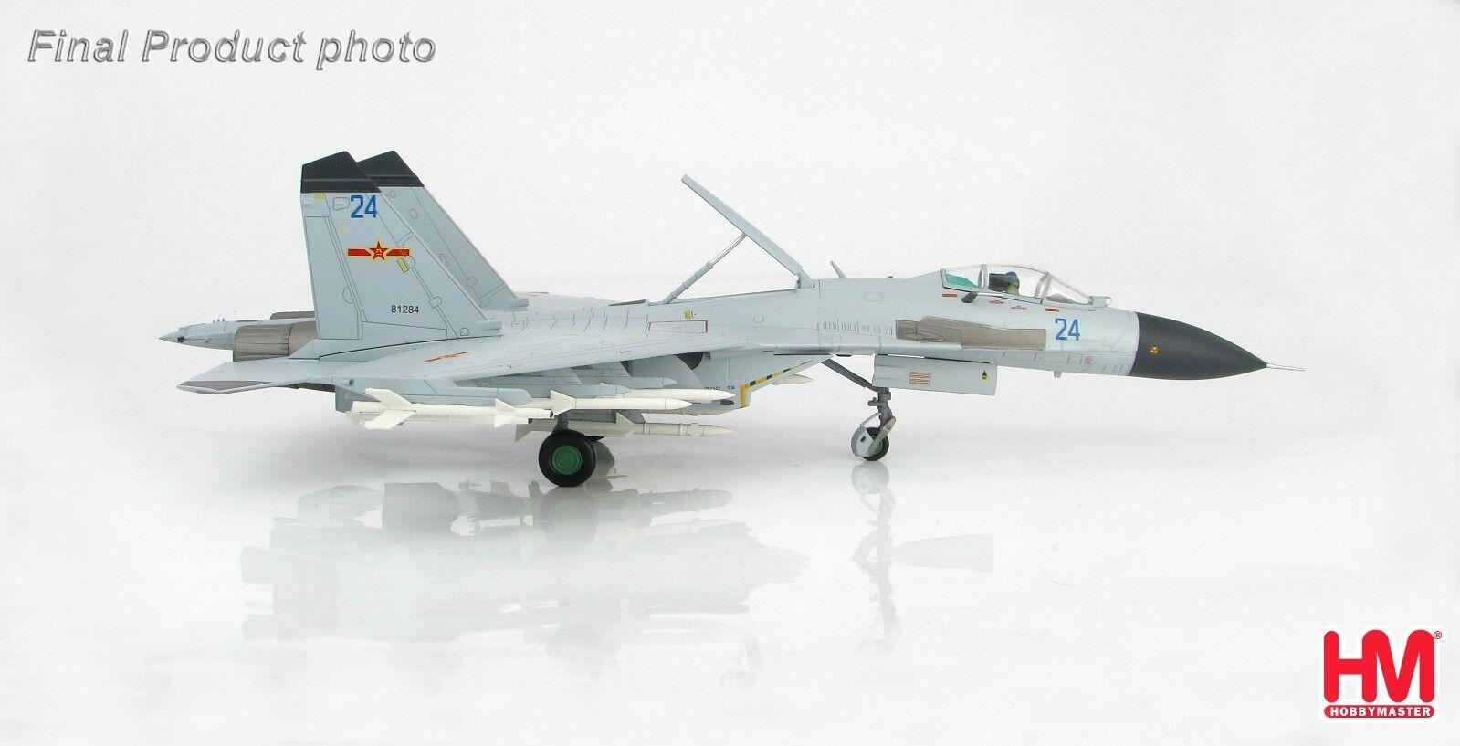 Hobby Master HA602,J -11BH Kinesisk multirollfighter blå 24, 2014