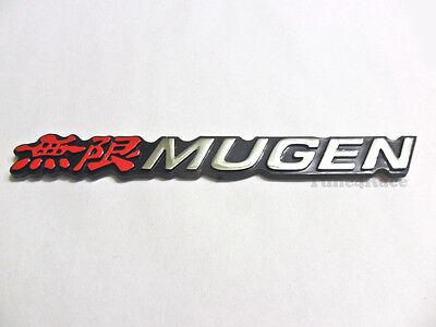 Honda Mugen emblem Red logo badge Sticker decal Civic Accord SI SIR Acura JDM