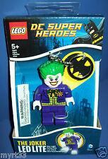 LEGO DC SUPER HEROES  LED LITE Key Chain Lite - THE JOKER lights up NISB