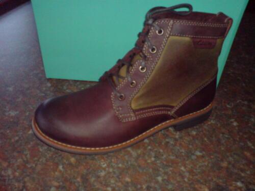Combi Chestnut Men Uk Drill Leather Boots 7 Clarks Midford New wxXS1qg