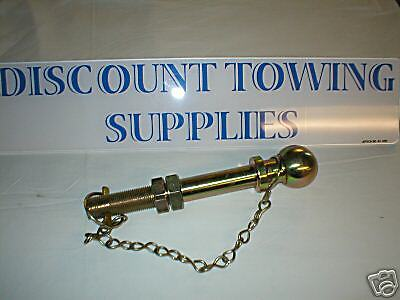 Threaded Towball with Nut /& Washer Free P/&P