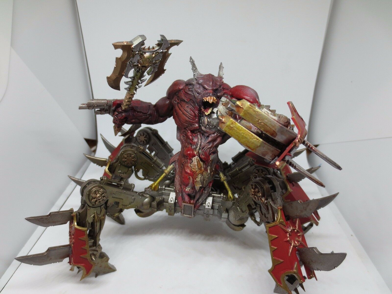 Warhammer Daemons Of Chaos Soul Grinder Made and Painted 40K G152