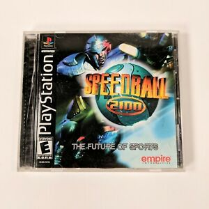 Speedball 2100 (Sony PlayStation 1, PS1) Complete with Registration Card Intact