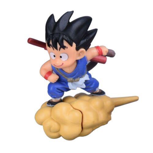 Figura Goku con nube Kinton Anime DRAGON BALL Kid Son Goku magic cloud