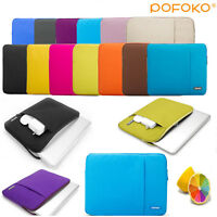 Notebook Laptop Sleeve Pouch Cover Carry Bag Case For 11.6 12 13.3 14.1 15.6 16""