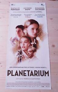 PLANETARIUM-2017-Locandina-Film-33x70-Poster-Originale-Cinema