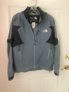 North-Face-Summit-Series-Apex-Womens-Blue-Jacket-Size-Small