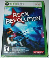 Rock Revolution XBOX 360 Video Game Korn Metallica Linkin Park band, BRAND NEW !