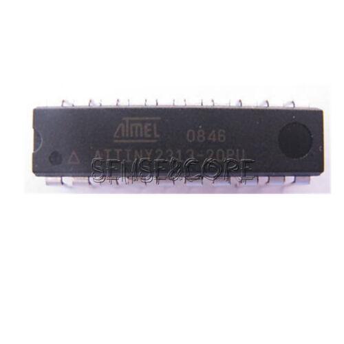 10PCS ATMEL ATTINY 2313 ATTINY2313-20PU DIP-20 MCU AVR CHIP IC new