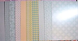 Create And Craft 12x12 pearlescent pastel blush 24 count cardstock 144739 NIP