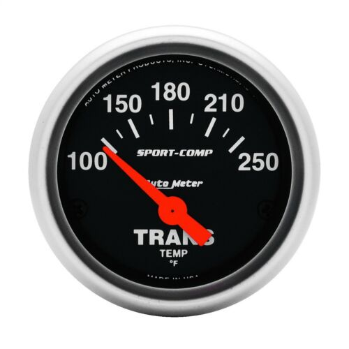AutoMeter 3357 Sport-Comp Electric Transmission Temperature 100-250 Gauge 2-1//16
