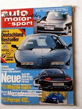 AMS 26-85+FERRARI 412+CORVETTE CABRIO+MORGAN PLUS 4+BMW KELLENERS K 3S+MAZDA 626