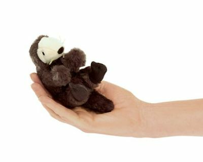 SEA OTTER FINGER PUPPET # 2766 ~NEW for 2016  FREE SHIP/ USA ~ Folkmanis Puppet