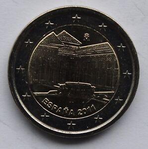 SPAIN 2 € circulation coin 2011 UNCIRCULATED