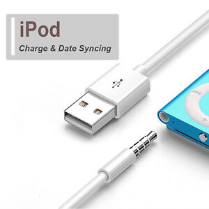 Apple-iPod-Shuffle-2nd-3rd-4th-5th-6th-Charger-Sync-Data-Transfer-Charging-Cable