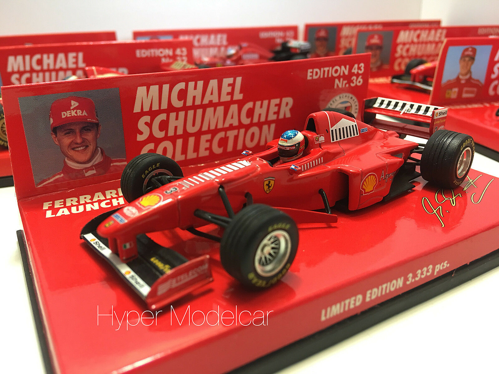 Minichamps 1 43 F1 Ferrari Launch Version  3 1998  M. Schumacher Art 510984393