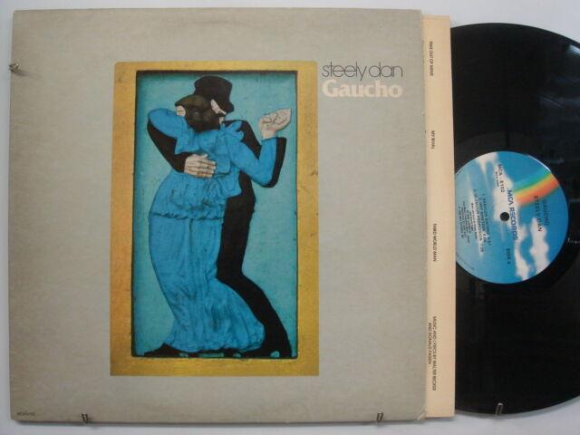 STEELY DAN Gaucho ROCK LP MCA Masterdisk ROBERT LUDWIG Orig Lyric Inner