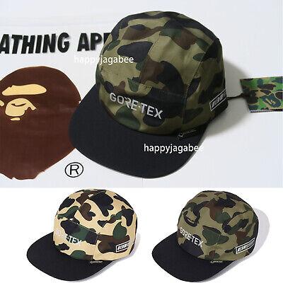 2018 A BATHING APE Goods Men/'s 1ST CAMO JET CAP SNAP BACK 2colors Japan New