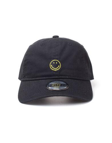 """L/'ORIGINALE UFFICIALE faccina sorridente marchio NERO Strapback Berretto Da Baseball /""""PAPA/' /""""Cappello"""